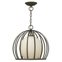 Fredrick Ramond FR32903BKS Renata 1 Light 15 inch Blacksmith Foyer Light Ceiling Light photo thumbnail