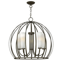Fredrick Ramond FR32905BKS Renata 5 Light 26 inch Blacksmith Chandelier Ceiling Light