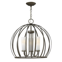 Fredrick Ramond FR32906BKS Renata 3 Light 20 inch Blacksmith Chandelier Ceiling Light
