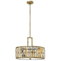Fredrick Ramond Gemma 3 Light Foyer in Silver Leaf FR33735SLF