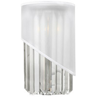 Fredrick Ramond Gigi 1 Light Sconce in Polished Nickel FR34410PNI
