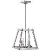Empire 4 Light 15 inch Polished Nickel Foyer Pendant Ceiling Light