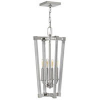 Fredrick Ramond FR36014PNI Empire 4 Light 13 inch Polished Nickel Foyer Ceiling Light