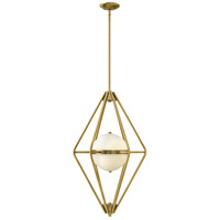 Spectra 2 Light 18 inch Retro Brass Foyer Ceiling Light