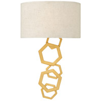 Moxie 2 Light 12 inch Sunset Gold Sconce Wall Light