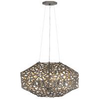 Fredrick Ramond FR38705MMB Kestrel 6 Light 22 inch Metallic Matte Bronze Chandelier Ceiling Light Single Tier