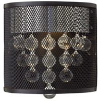 Fredrick Ramond Fiona 1 Light Sconce in Black FR38900BLK