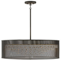 Fredrick Ramond FR38908BLK Fiona 8 Light 35 inch Black Chandelier Ceiling Light