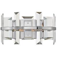 Fredrick Ramond FR39212PNI Odette 2 Light 13 inch Polished Nickel Sconce Wall Light