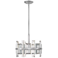 Fredrick Ramond FR39213PNI Odette 4 Light 17 inch Polished Nickel Pendant Ceiling Light, Single Tier