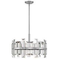 Odette 6 Light 24 inch Polished Nickel Chandelier Ceiling Light, Single Tier