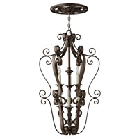Fredrick Ramond Paloma 6 Light Foyer Light in Aged Iron FR39466AGI photo thumbnail