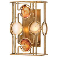 Lucia 2 Light 9 inch Burnished Gold ADA Sconce Wall Light
