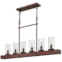 Fredrick Ramond Jasper 6 Light Chandelier in Iron FR40204IRN