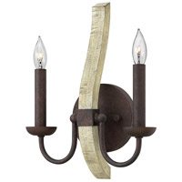Fredrick Ramond FR40572IRR Middlefield 2 Light 10 inch Iron Rust ADA Sconce Wall Light