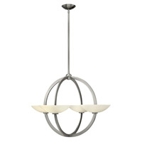 Fredrick Ramond Method 8 Light Chandelier in Brushed Nickel FR40756BNI