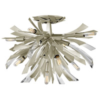 Fredrick Ramond FR40903GG Vida 9 Light 24 inch Glacial Semi-Flush Mount Ceiling Light