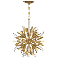 Fredrick Ramond FR40909BNG Vida 12 Light 34 inch Burnished Gold Chandelier Ceiling Light, Multi Tier