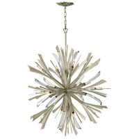 Fredrick Ramond FR40905GG Vida 13 Light 36 inch Glacial Chandelier Ceiling Light