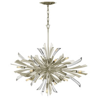 Fredrick Ramond FR40906GG Vida 13 Light 36 inch Glacial Pendant Ceiling Light photo thumbnail