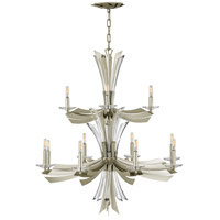 Fredrick Ramond FR40909GG Vida 12 Light 34 inch Glacial Chandelier Ceiling Light