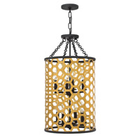 Felix 8 Light 15 inch Sunset Gold Chandelier Ceiling Light
