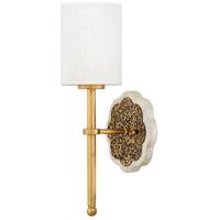 Fredrick Ramond FR41100CLG Alba 1 Light 6 inch Cleopatra Gold Sconce Wall Light