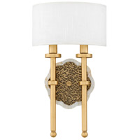 Fredrick Ramond FR41102CLG Alba 2 Light 9 inch Cleopatra Gold ADA Sconce Wall Light