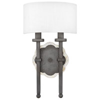 Alba 2 Light 9 inch Metallic Matte Bronze ADA Sconce Wall Light