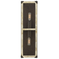 Emilie 2 Light 6 inch Iron Rust ADA Sconce Wall Light