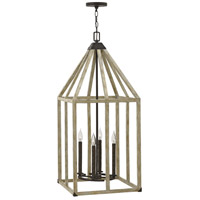 Emilie 4 Light 16 inch Iron Rust Foyer Light Ceiling Light
