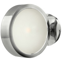 Broadway 1 Light 8 inch Poilished Aluminum Sconce Wall Light