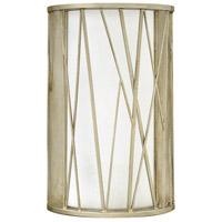 Fredrick Ramond FR41612SLF Nest 1 Light 9 inch Silver Leaf Sconce Wall Light
