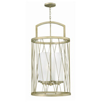 Fredrick Ramond FR41624SLF Nest 4 Light 21 inch Silver Leaf Foyer Ceiling Light in White Scavo Single Tier