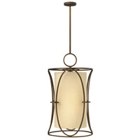 Pandora 6 Light 18 inch Brushed Cinnamon Chandelier Ceiling Light