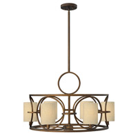 Pandora 6 Light 28 inch Brushed Cinnamon Chandelier Ceiling Light