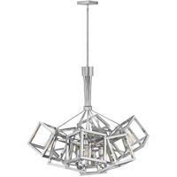Fredrick Ramond FR42445PNI Ensemble 9 Light 31 inch Polished Nickel Chandelier Ceiling Light Single Tier
