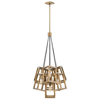 Ensemble 7 Light 28 inch Brushed Bronze Chandelier Ceiling Light