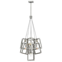 Fredrick Ramond FR42448PNI Ensemble 7 Light 28 inch Polished Nickel Pendant Ceiling Light
