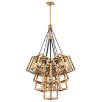 Fredrick Ramond FR42449BBZ Ensemble 13 Light 33 inch Brushed Bronze Chandelier Ceiling Light