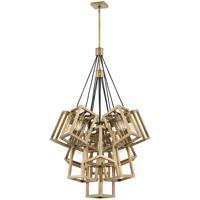 Fredrick Ramond FR42449BBZ Ensemble 13 Light 33 inch Brushed Bronze Chandelier Ceiling Light