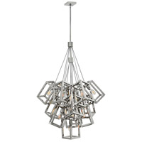 Ensemble 13 Light 33 inch Polished Nickel Foyer Pendant Ceiling Light