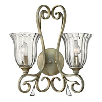 Fredrick Ramond Celeste 2 Light Sconce in Silver Leaf FR42642SLF photo thumbnail