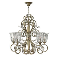 Fredrick Ramond Celeste 5 Light Chandelier in Silver Leaf FR42645SLF