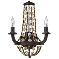 Fredrick Ramond FR42862VBZ Hamlet 2 Light 11 inch Vintage Bronze Sconce Wall Light