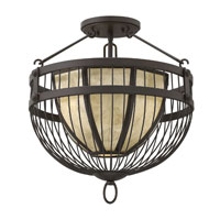 Fredrick Ramond Ava 3 Light Foyer Light in Vintage Bronze FR42873VBZ