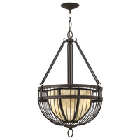 Fredrick Ramond Ava 3 Light Foyer Light in Vintage Bronze FR42875VBZ