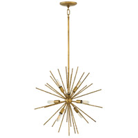 Tryst 8 Light 22 inch Hammered Bronze Pendant Ceiling Light