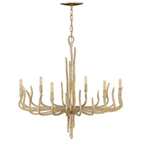 Spyre 6 Light 28 inch Champagne Gold Chandelier Ceiling Light, Single Tier