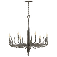 Spyre 6 Light 28 inch Metallic Matte Bronze Chandelier Ceiling Light, Single Tier